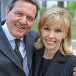 Gerhard Schröder and Doris Schröder-Köpf