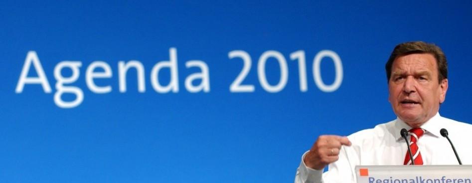 Gerhard Schr 246 Der Reforms And Agenda 2010