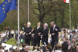 Feier zur EU-Erweiterung 2004
