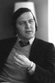 Der Juso-Vorsitzende Gerhard Schröder im Jahre 1979